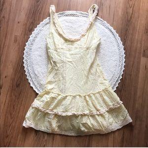 VINTAGE FREE PEOPLE baby doll dress
